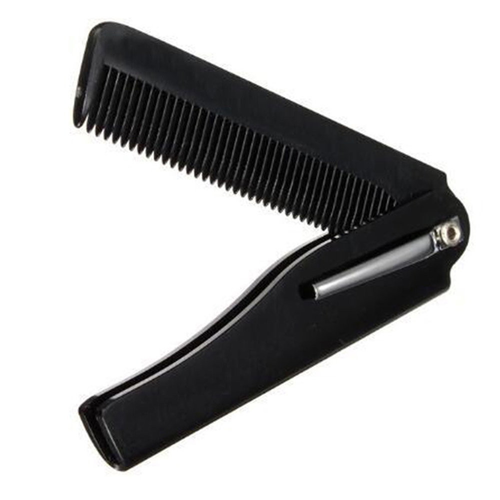 Portable Folding Comb Hair Styling Hairstylist Hairdressing Detangle Beard Comb