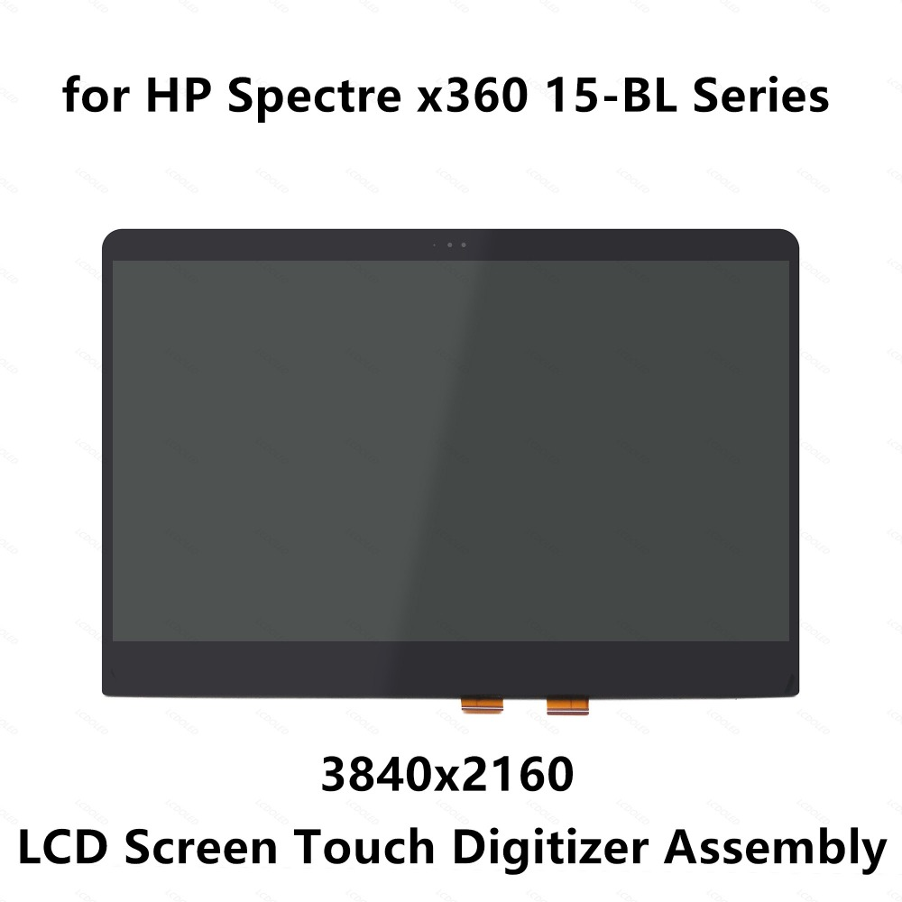 LCD Screen Display Touch Digitizer Assembly for HP Spectre 15-bl108ca 15-bl108nf 15-bl109nf 15-bl110nd 15-bl112dx NV156QUM-N72 for hp envy 15 bq194nz 15 bq199nz 15 bq051sa 15 bq150sa 15 bq100nl 15 bq101nl 15 bq103nl lcd display screen touch glass assembly