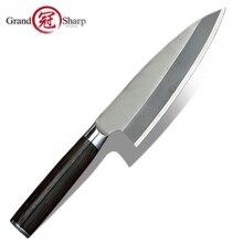 Японский нож Деба, нержавеющая сталь, специальная резка рыбы, кухонные профессиональные инструменты для приготовления пищи, лососевый тунец, сашими, резная резка