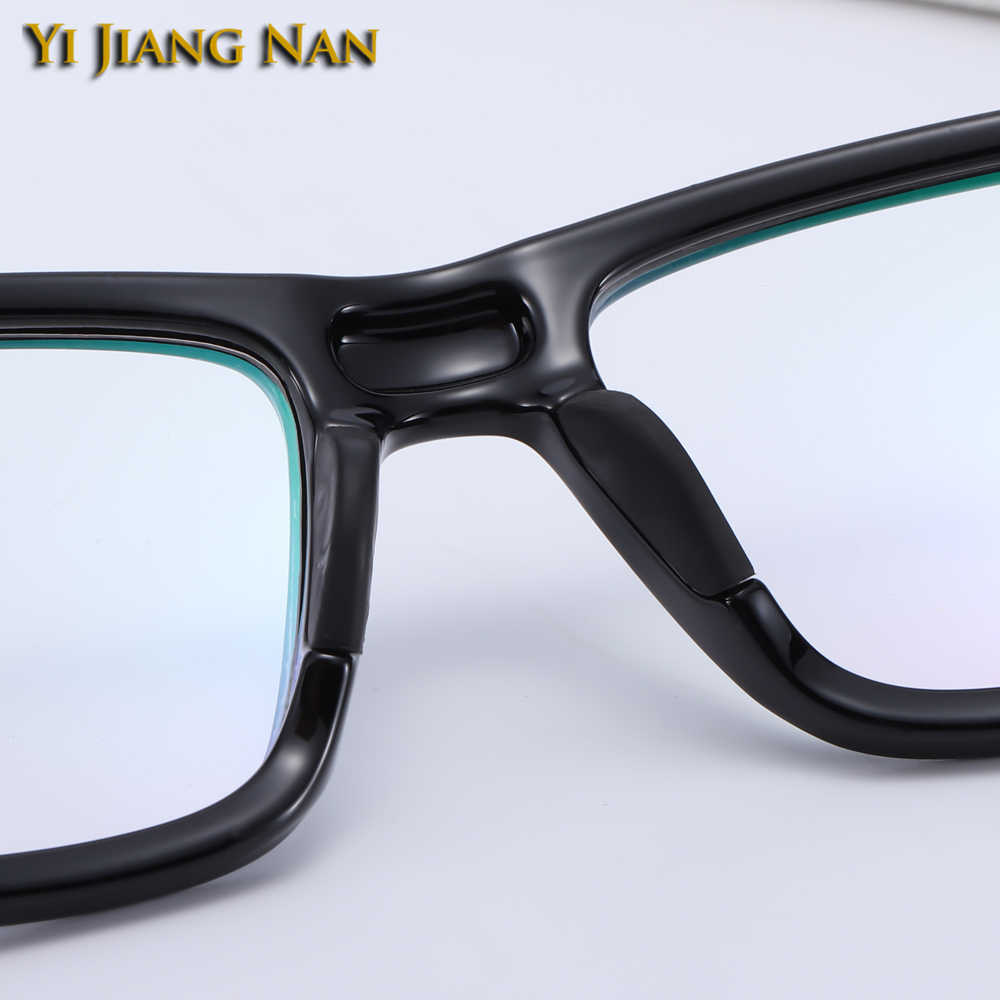 Yi Jiang Nan marca TR90 gafas deportivas gafas flexibles para hombres gafas ópticas montura gafas mujeres Occhiali Da Vista Uomo