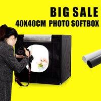 40X40X40CM Mini Photo Sudio Tabletop Shooting Soft Box Fotografia Photo Box Lightbox Studio Photography Accessories