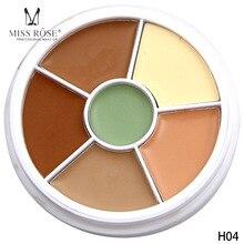 Hot Brand Miss Rose Makeup Base Contour Makeup Palette Beauty Make Up Profissional Covers Face Brightener Concealer