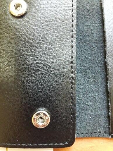 Genuine Leather Keychain Men Women Key Holder Organizer Pouch Cow Split Car Key Bag Wallet Housekeeper Key Case Mini Card Bag