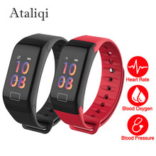 Color Screen Smart Band Watch Activity Fitness Tracker Bracelet Sleep Tracker Step Pulse Heart Rate Monitor Wristband Smart Band
