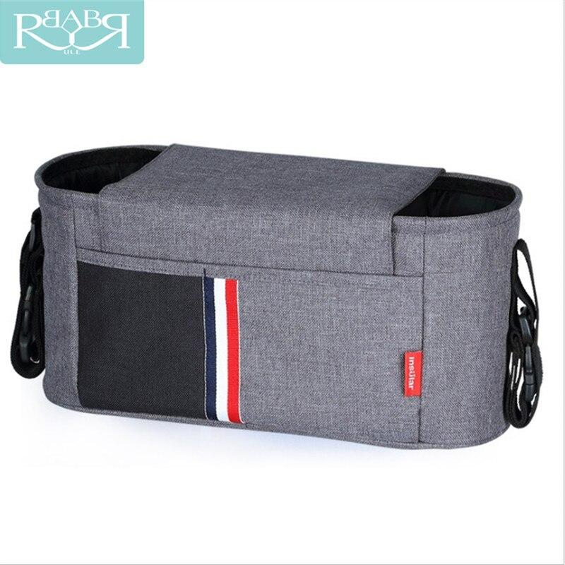 Passeggino Accessori Organizzatore Capacità Impermeabile Bebe Carriage Bag Per Carrozzine Pannolino Pannolino Sacchetto Della Madre Accessori Auto
