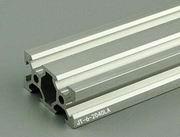 Произвольная резка 1000 мм 3030 черный алюминиевый экструзионный профиль, черный цвет