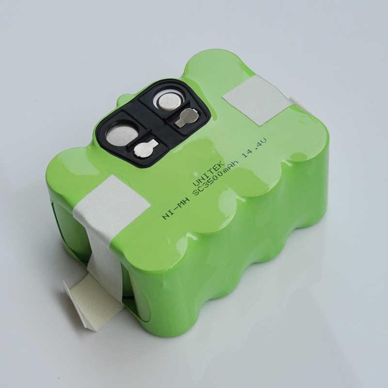 14,4 V SC никель-металл-гидридная аккумуляторная батарея пакет 3500 мАч пылесос робот для уборки для KV8 XR210 XR510 XR210A XR210B XR510B XR510D