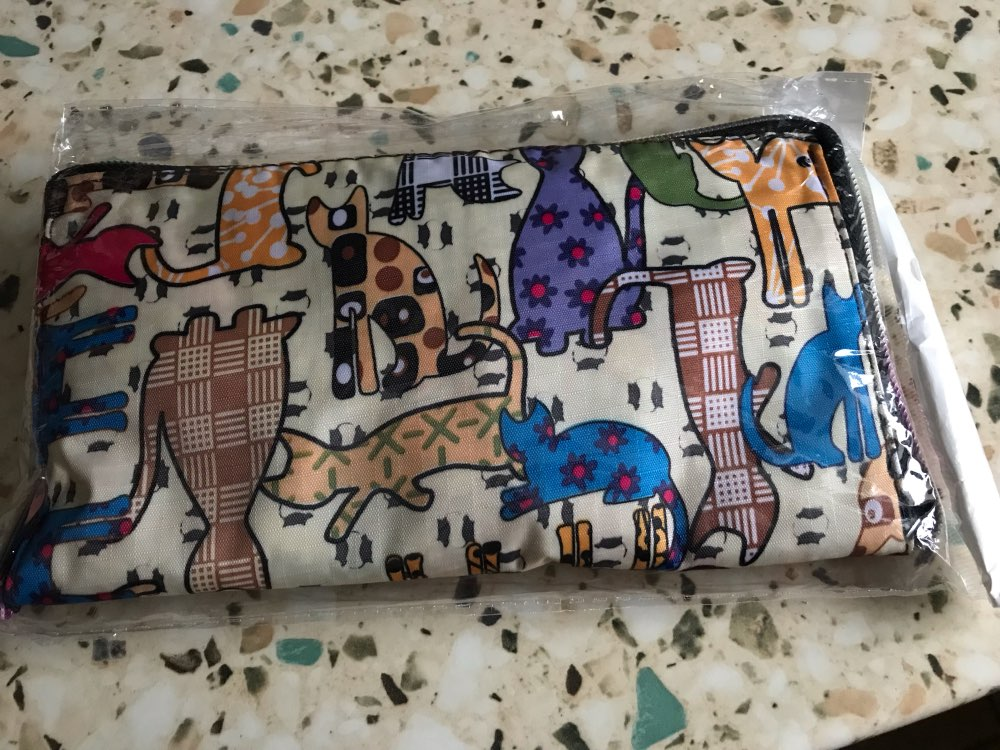 Draagtas Opvouwbare herbruikbare boodschappentas Grote capaciteit boodschappentas Schoudertassen Eco-vriendelijke Tote Handtas voor reizen photo review