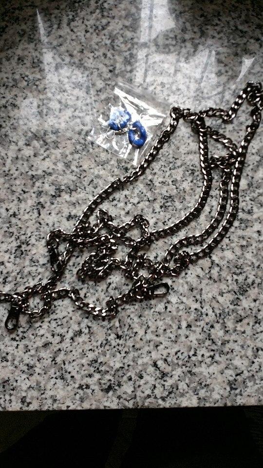 MM FOND Nieuwe mode vrouwen handtas kettingband super chic met 100cm / 120cm lengte goede kwaliteit bag chain bag riemen decoratie photo review