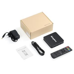 Image 5 - Leelbox K4 MAX Box 4 K TV Box RK3228 Quad Core 64 bit Mali 450 100Mbp Android 9.0 4 GB + 64 GB HDMI2.0 2.4G WiFi BT4.1 Nieuwste