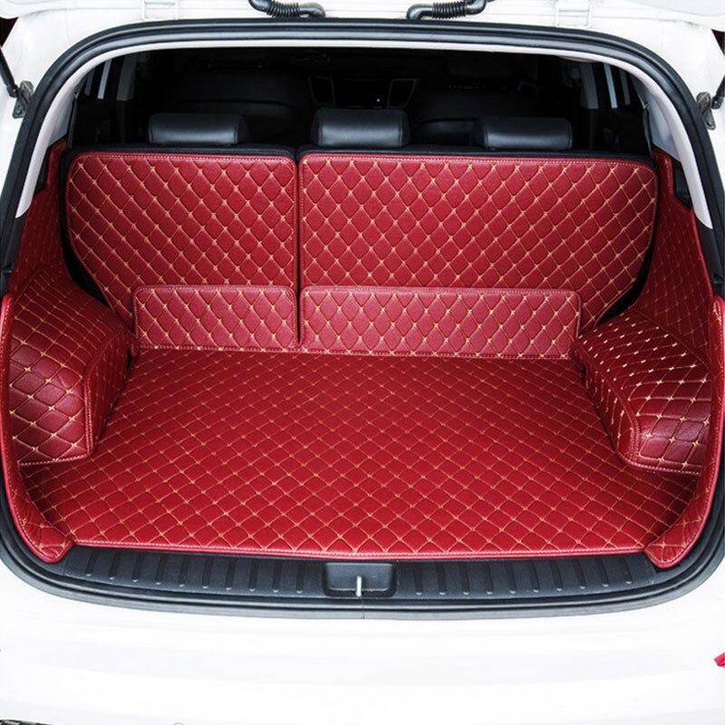 Zhihui пользовательские багажник автомобиля коврик для Audi A1 A3 A4 A4L A5 A6 A6L A7 A8 Q3 Q5 Q7 s и RS серий Авто материалы ствола аксессуары