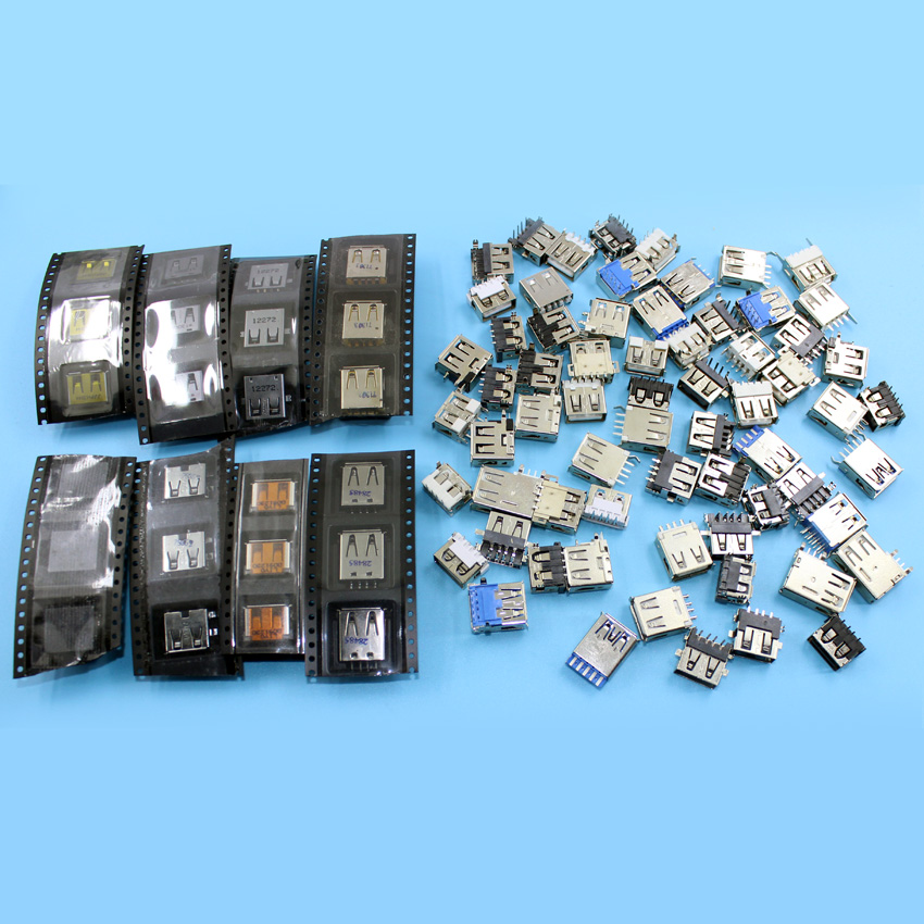 100pcs 50models Notebook Laptop USB Jack USB Socket 3.0 USB Plug 2.0 USB Connector For ACER/ASUS/HP/ DELL/Toshiba/Sony