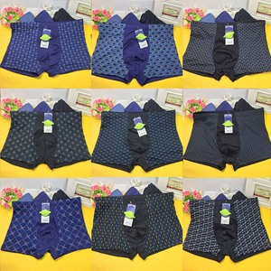 Image 5 - 10 Packs/Set Fashion Multi Print Boxer Gentle Man Mens Male Boxers Underwear Bulge Pouch Underpants Panties Size 2XL 5XL 6XL 7XL