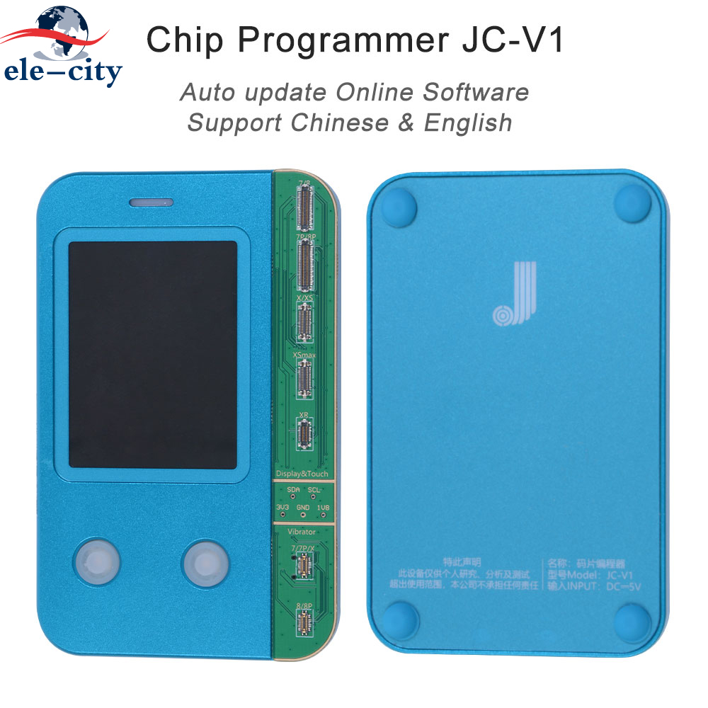New JC-V1 LCD OLED Incell Touch Screen True Tone Repairing Chip Programmer For IPhone 8 8Plus X XR XS Max 11 11Pro 11Pro Max