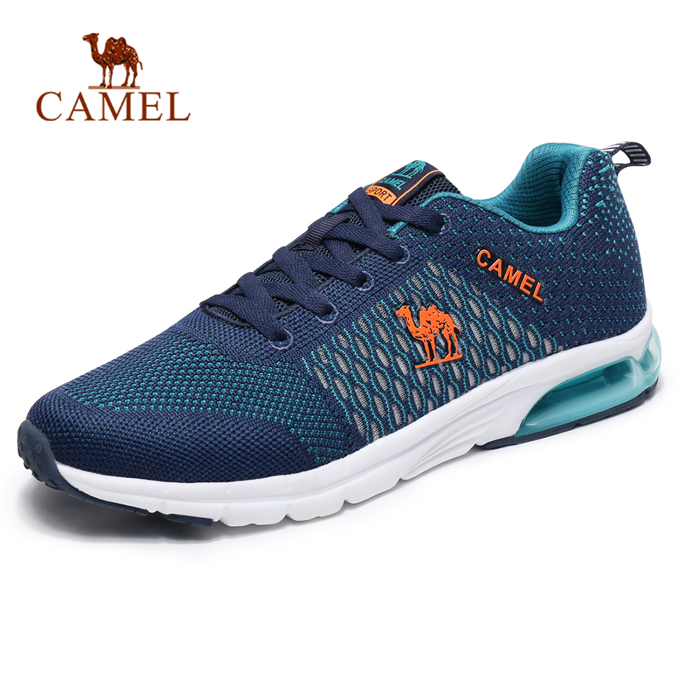 CAMEL Men Running Shoes Air Cushion MAX Sneakers Comfortable Breathable Outdoor Sports Exercise Running Jogging Shoes