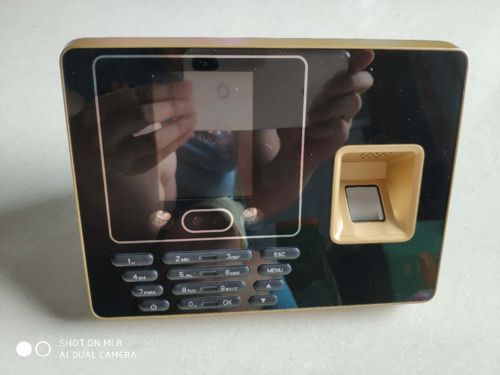 Biometric time attendance system Fingerprint & face recognition time attendance 500 face users software available стоимость