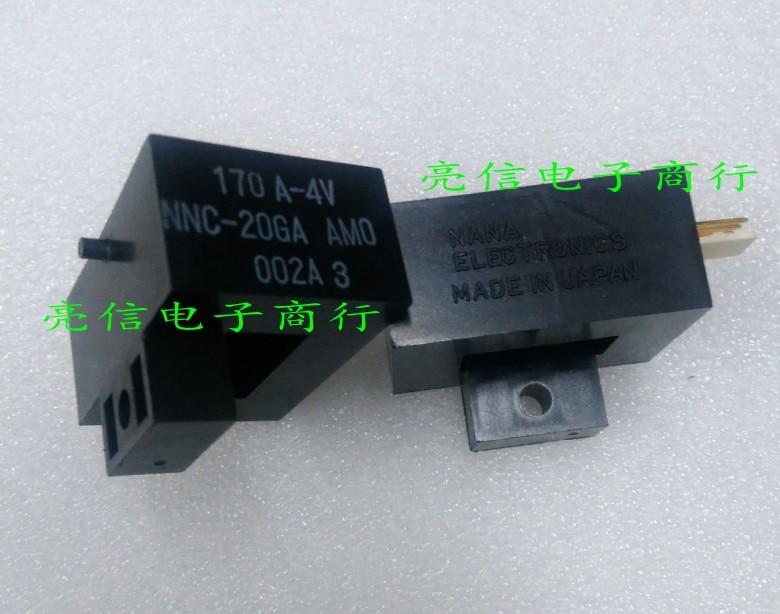 Original nouveau 100% japon importation NNC-20GA 170A 4 V capteur de courant inducteur mutuel interrupteur de courant