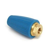 """4000PSI 1/4 """"Quick Connect Lavadora de Alta Pressão Rotativa Spray Bico Turbo Ponta Ideal"""