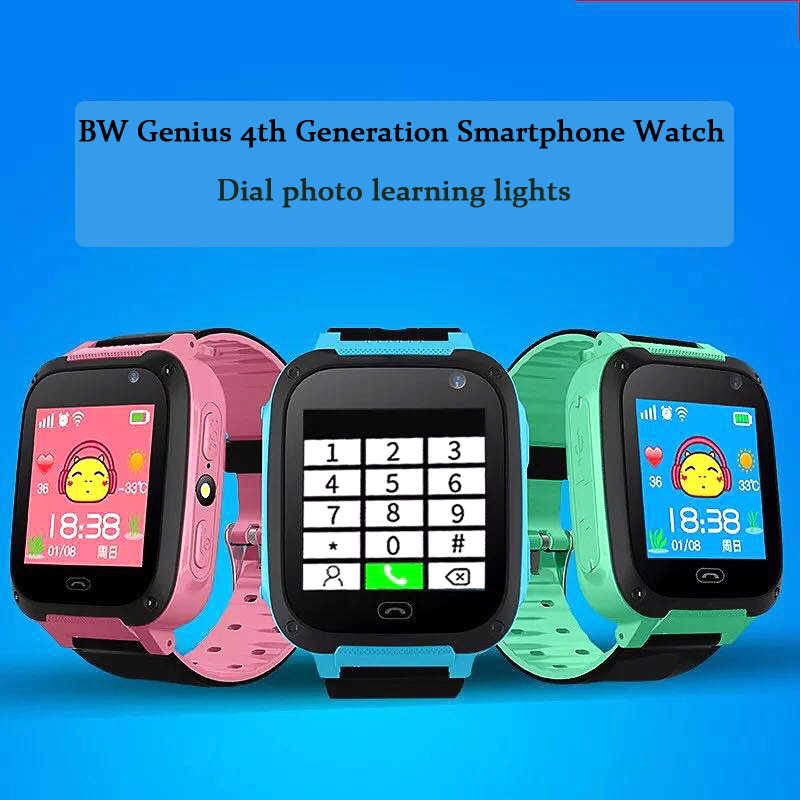 BANGWEI Positioning Children Security Anti lost Smart Watch With Camera Kid Lighting SOS For IOS Android Children Smart watch