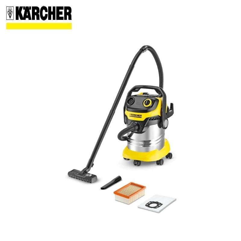 лучшая цена Vacuum cleaner KARCHER WD 5 PREMIUM Home vacuum Bagless vacuum cleaner Hand vacuum cleaner Hoover