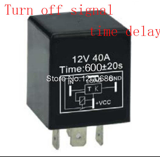 цена на 10 minutes delay off after switch turn off Automotive 12V Time Delay Relay SPDT 600 second delay release off relay