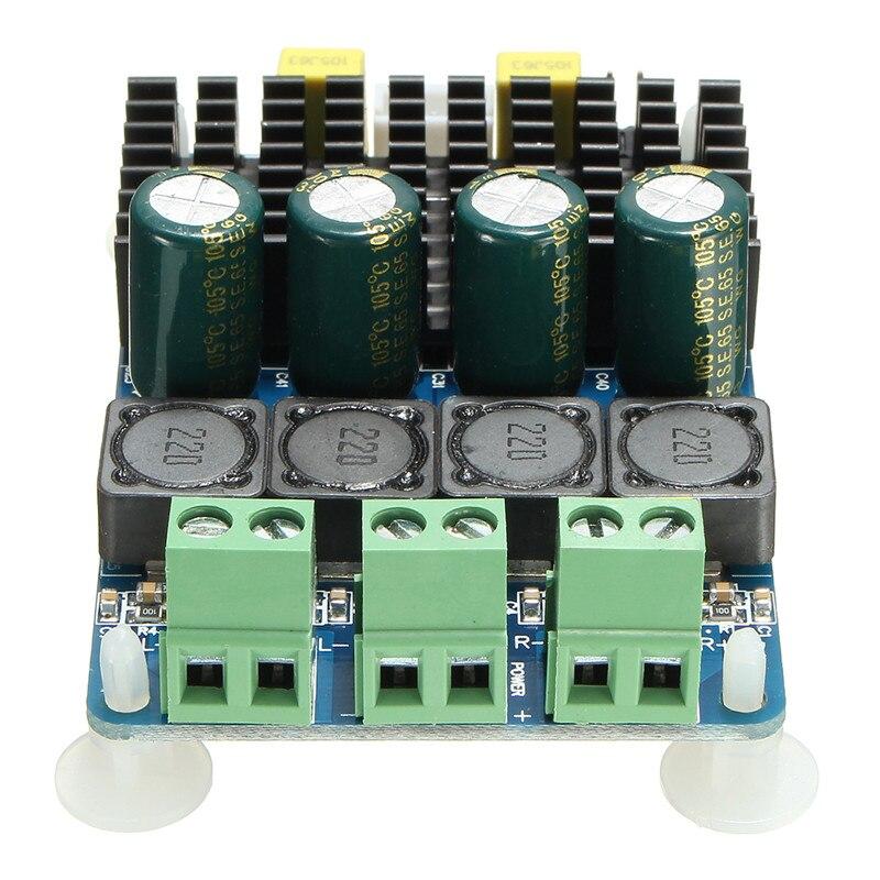 TDA7498 2 Channel 2X100W Digital Stereo Power Amplifier Board Module DC 8-32V