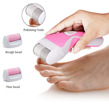 Skin Care Tool | PRITECH USB Callus Remover Rechargeable Dead Skin Remover Pedicure Tools Electric Foot Machine Care Foot File For Heels +3 Head