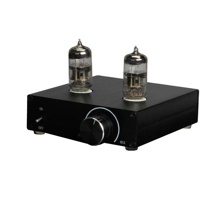 2018 New T5 Tube Pre-Amp Matisse Buffer HIFI Audio 6N3 Tube Preamplifier With 12V Adapter 1pcs high quality little bear p5 stereo vacuum tube preamplifier audio hifi buffer pre amp diy new