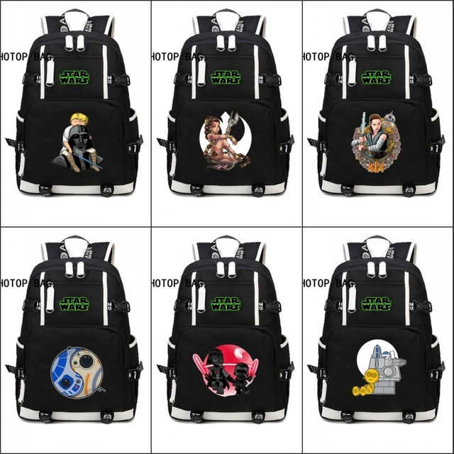 Us 27 44 5 Off Hot Movie Star Wars Backpack Male Female Students Yoda Schoolbag Student Book Bag Mochila Age Men Women Backpacks 15 Style In