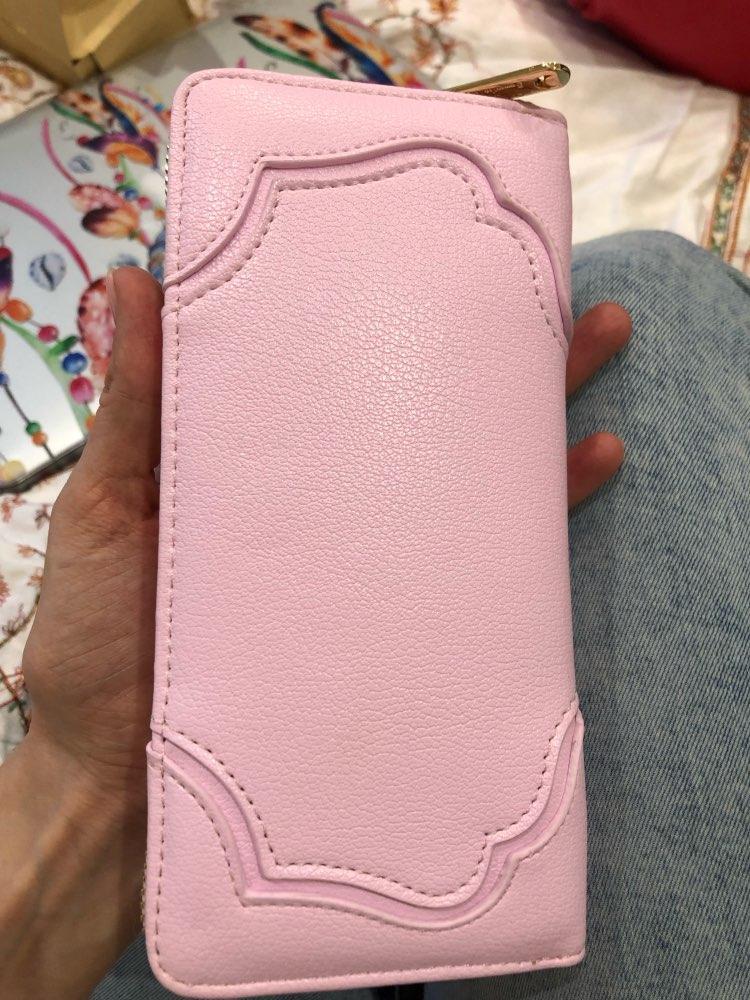2019 10 Color Fashion Sailor Moon Samantha Vega Luna Cat Wallet Kawaii Long Purse Cute Ladies PU Leather Wallet photo review