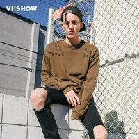 VIISHOW 2017 New Mens Hip Hop Sweatshirts Autumn Hoodies Men Pullovers Crew Neck Male Casual Sweatshirt