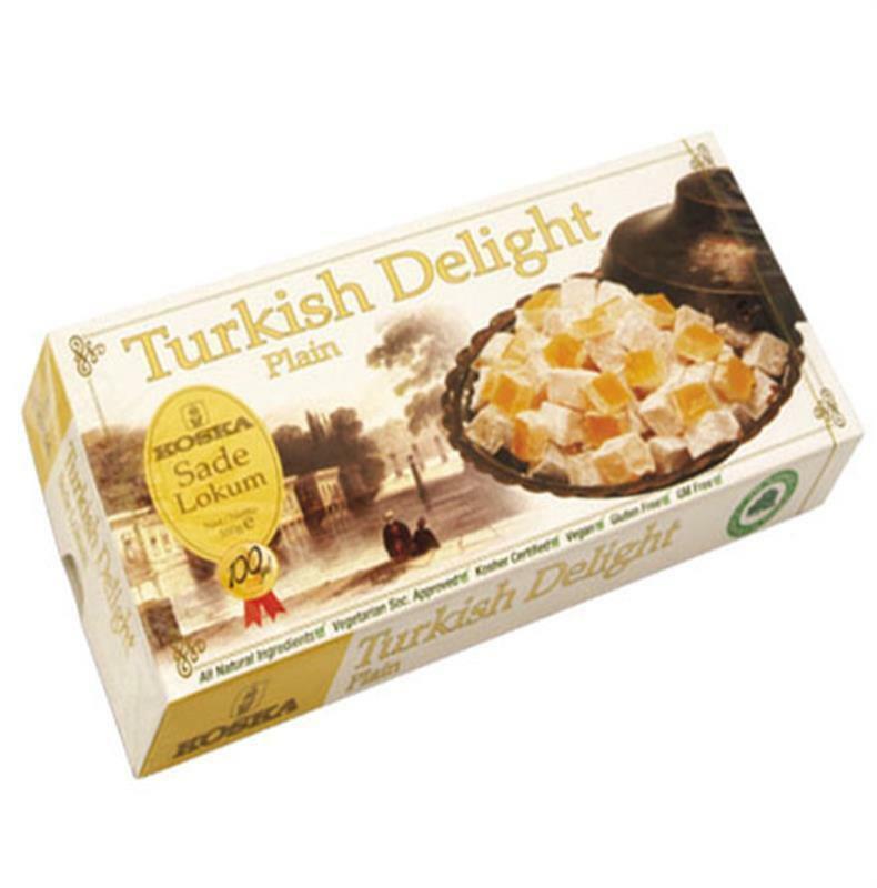 Koska Plain Turkish Delight 500 Gr. NEW Delicious Turkish Plain