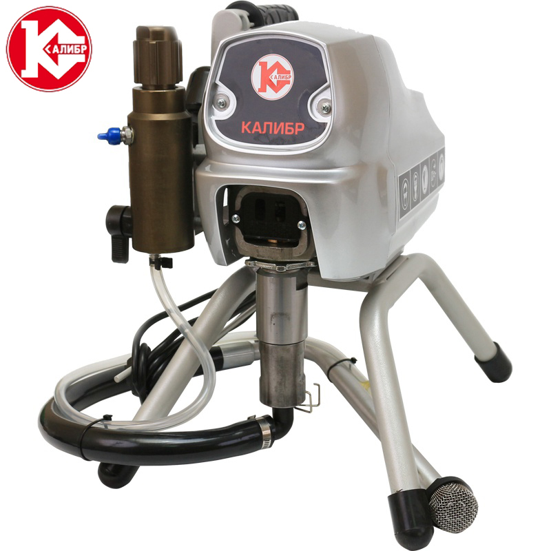Kalibr ABR-850 High-pressure New airless spraying machine Airless Spray Gun Airless Paint Sprayer painting machine tool kalibr ekrp 350 2 6m electric spray gun latex paint airbrush paint spray gun