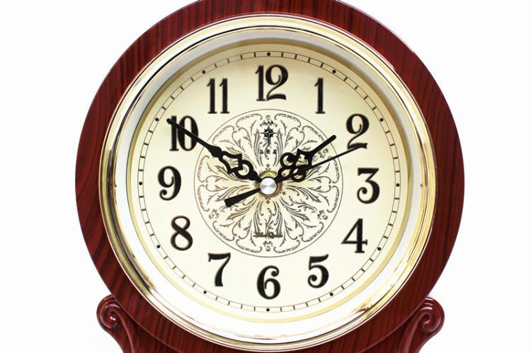Ora e Tabelës Orë Vintage Klasike Klasike, Salla e Uljes TV Kabinet - Dekor në shtëpi - Foto 3