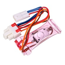UXCELL 1PCS Refrigerator Defrost Thermostat -7/-5 Celsius Degree Freezer Temperature Controller 6A 3 Wire Lead N.O or with Fuse цены