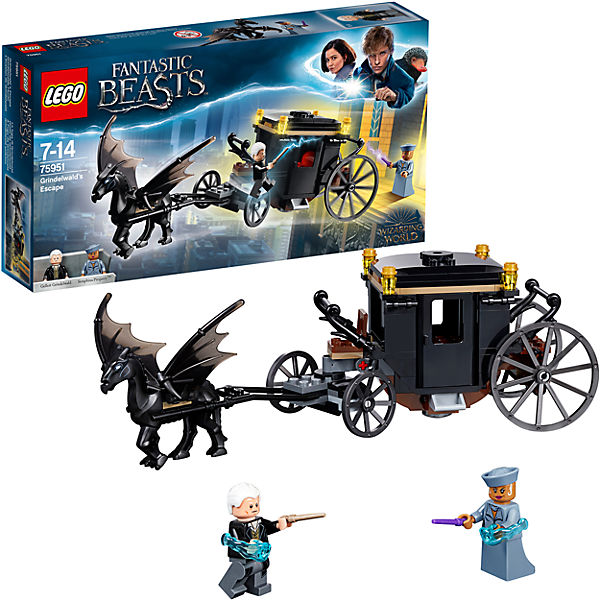 Contruction Designer LEGO Harry Potter 75951 Escape Green de Wald 8005904 Toys Blocks the harry potter dobby hermione dumbledore action figure toys for kids christmas gifts