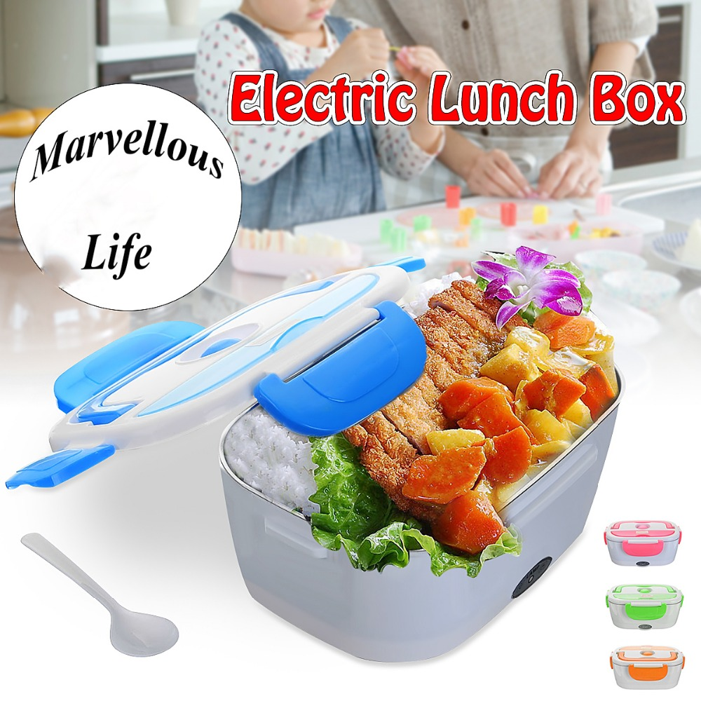 Electric Portable Food Warmer 1.5L Stainless Steel Food Heater Electric Lunch Box 220V Food-grade Table Food Warmer Container Electric Portable Food Warmer 1.5L Stainless Steel Food Heater Electric Lunch Box 220V Food-grade Table Food Warmer Container