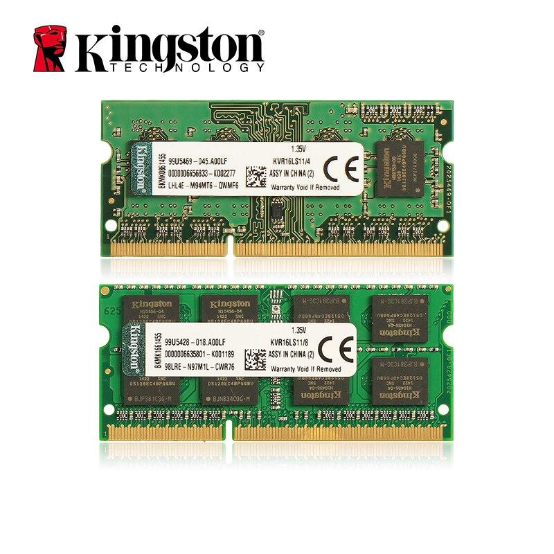 Kingston BÉLIERS mémoire D'ordinateur Portable DDR3 1600 MHZ 1.35 V 4 GB/8 GB