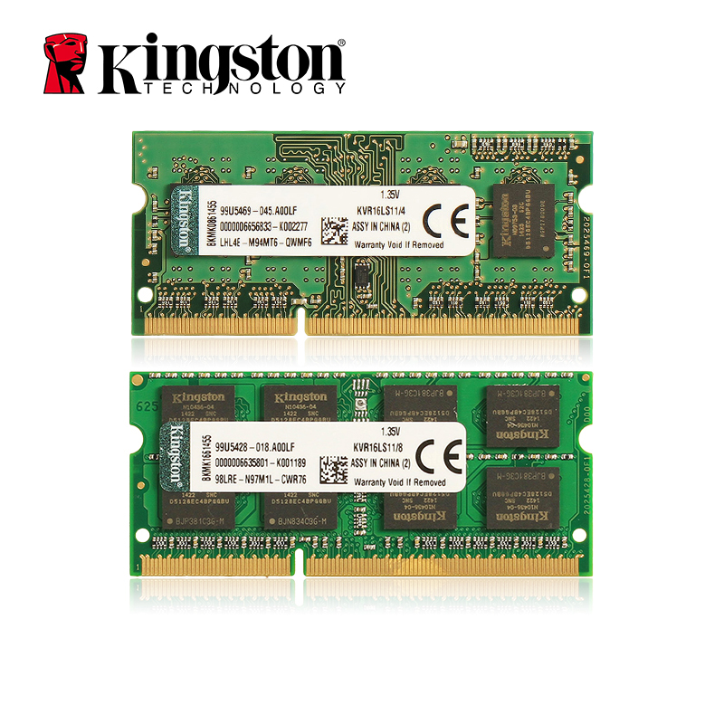 все цены на Kingston RAMS Laptop memory DDR3 1600MHZ 1.35V 4GB/8GB