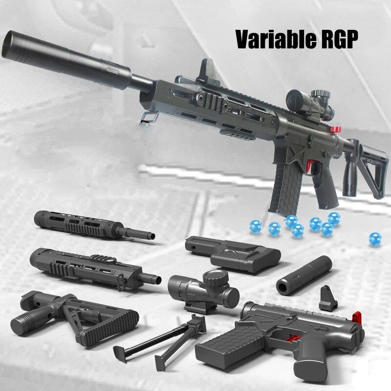 New Hot Enfants Jouet Sniper Fusil Mitraillette Airsoft air Paintball Doux l'eau Balles Costume pour Nerf Gun Toy Guns
