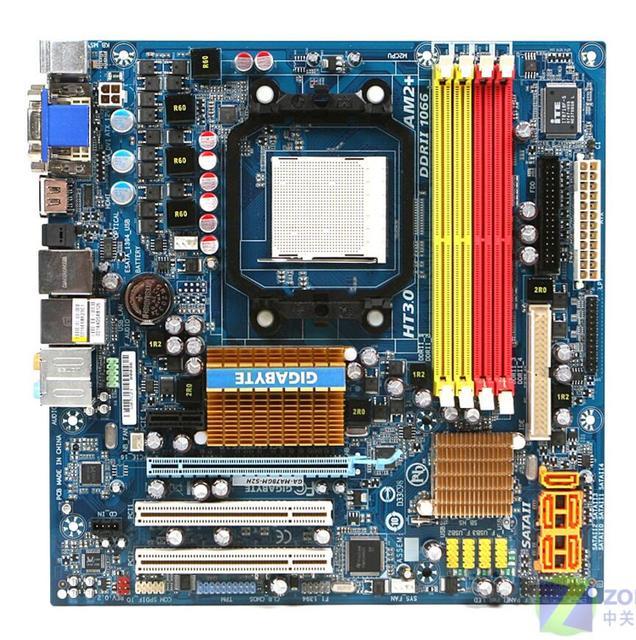Gigabyte GA-M78SM-S2H Nvidia Chipset XP