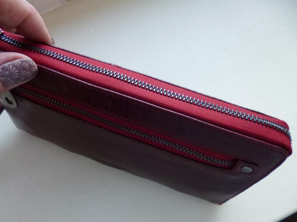 Nieuwe lederen vrouwen portefeuilles rits ontwerp effen kleur telefoontassen lange vrouwelijke tas hoge kwaliteit dames clutch portemonnee photo review
