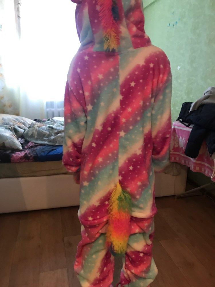 Unicorn Sleepwear Kigurumi Onesie photo review