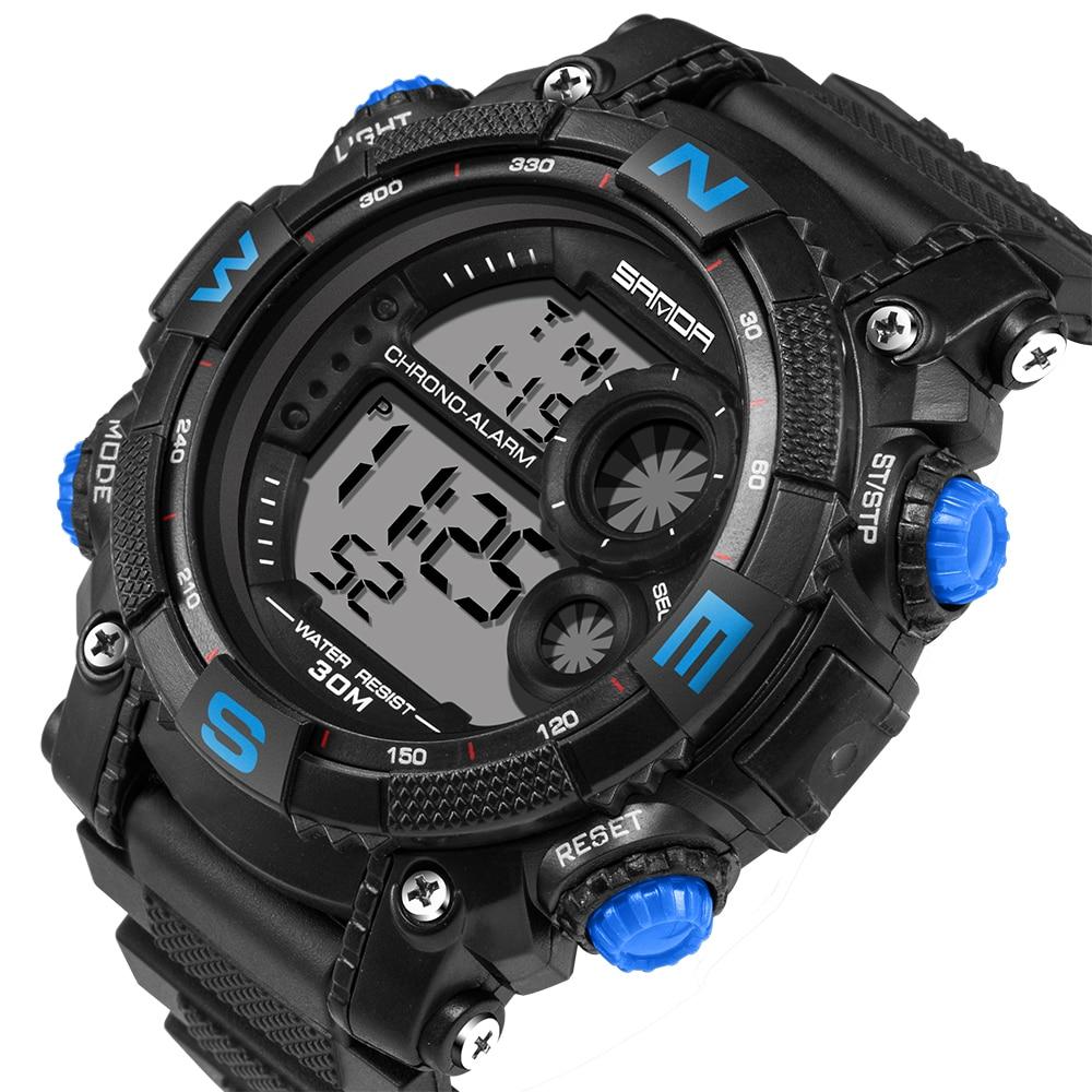 Homens dos homens Relógio de moda Digital Relógios Esportivos Parar - Relógios masculinos