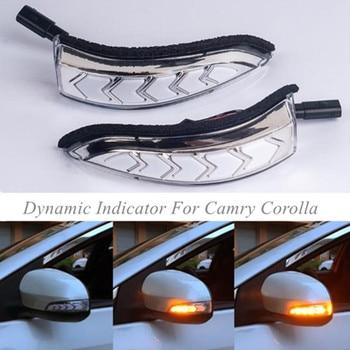 トヨタカムリカローラプリウスため C Venza はサイオン iM アバロン LED ダイナミック信号ウインカーシーケンシャルサイドミラーインジケータライト