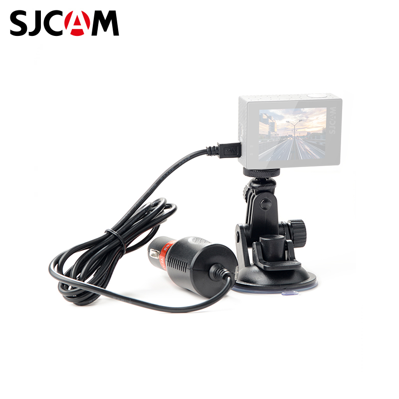 SJCAM SJ4000&SJ5000&M10 car charger action camera s m large size bag for gopro hero 5 4 sjcam accessories case for go pro sjcam sj4000 sj5000 sport camera