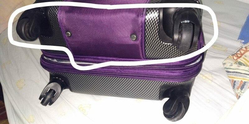 BDTHOOO Vervanging Bagage Wielen voor koffers Reparatie Handspinner Zwenkwielen Onderdelen Trolley Vervanging Rubber A08-WXL photo review