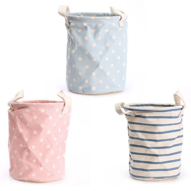 Laundry Bags With Handles Awesome Storage Laundry Basket With Handles 6060cm Cotton Linen Bucket