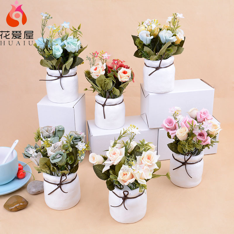 Роза штучна квітка набір рослин - Святкові та вечірні предмети