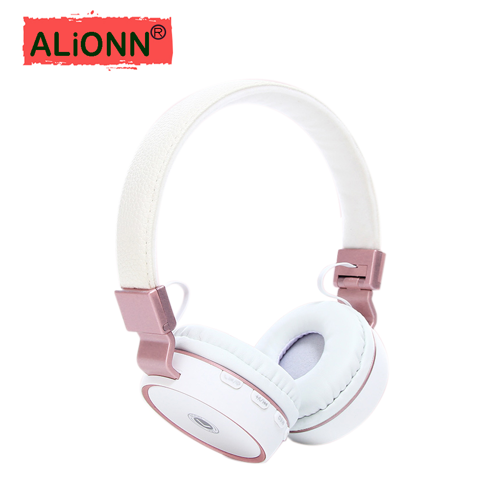 Portable Wireless Bluetooth Headphones Headset Earphone Earbuds Earphones With Mic Suppo ...